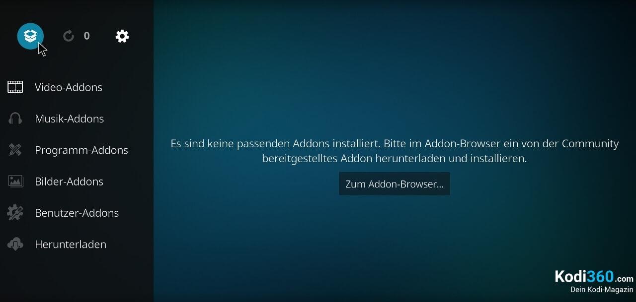 Kodi Addon installieren