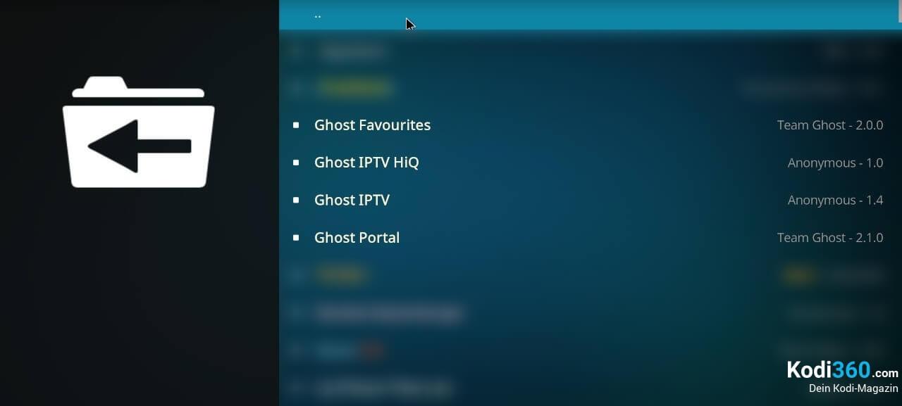 Ghost Repo installieren 7