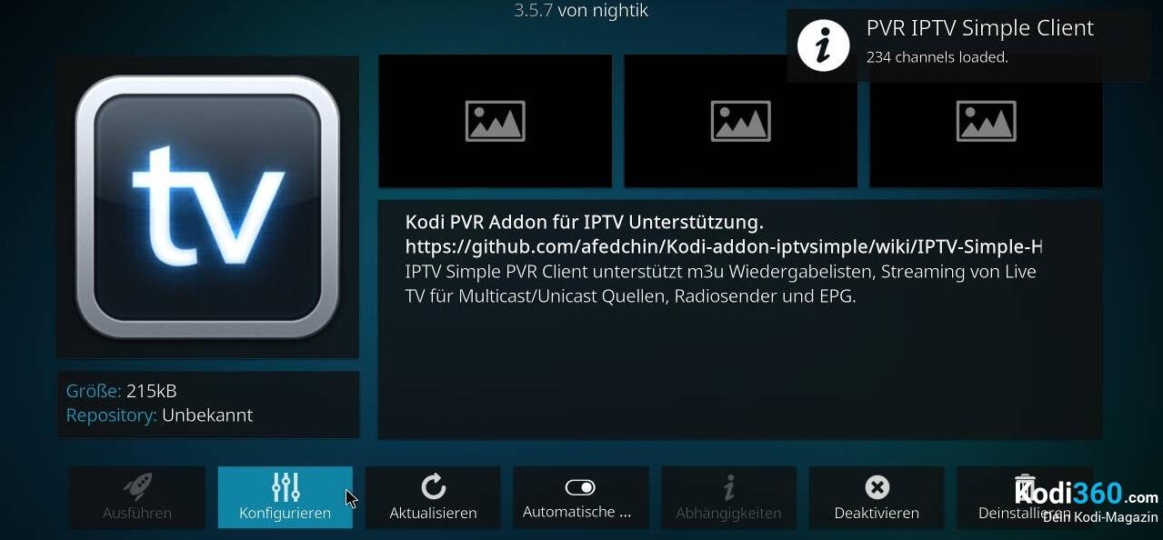 Kodi IPTV einrichten 13
