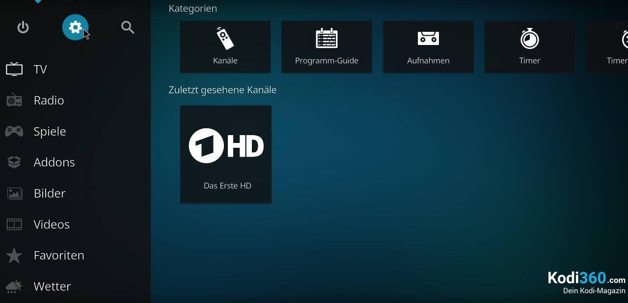 Kodi IPTV einrichten 14