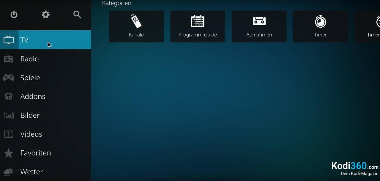 Kodi IPTV einrichten 18