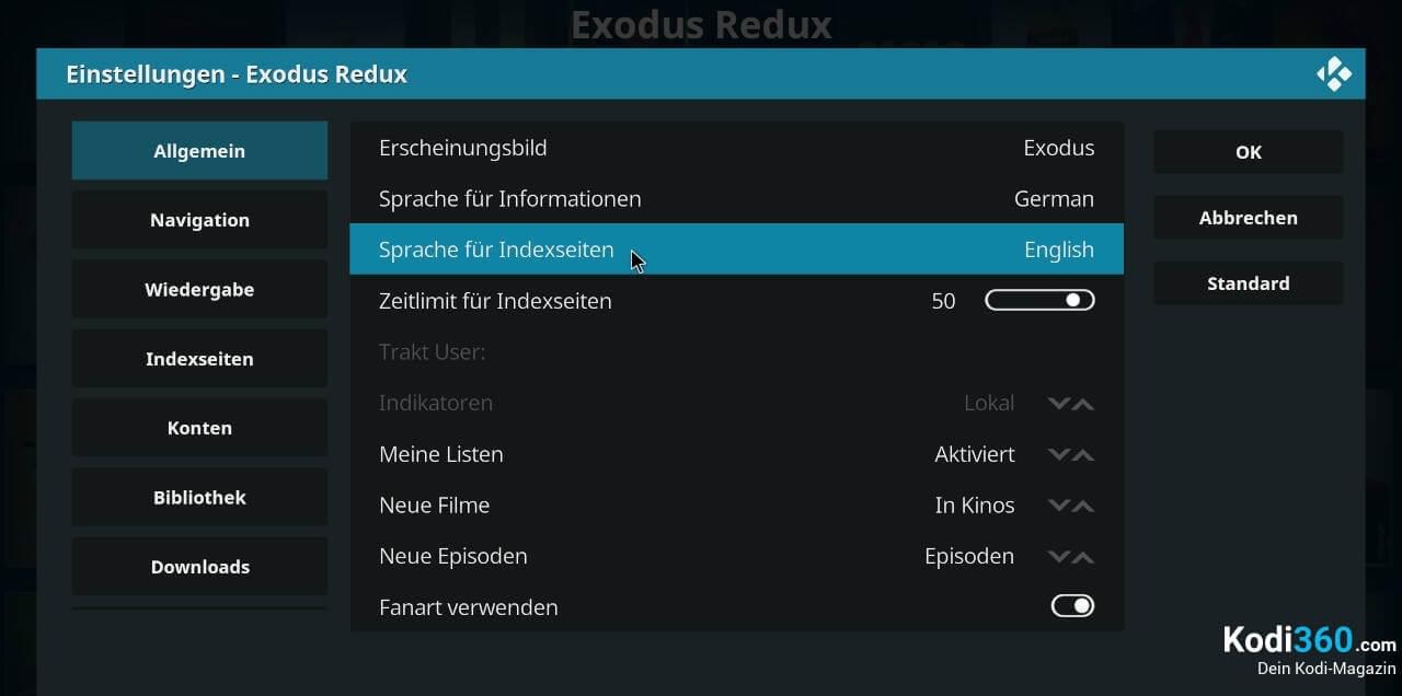 Exodus Redux Sprache wechseln 3