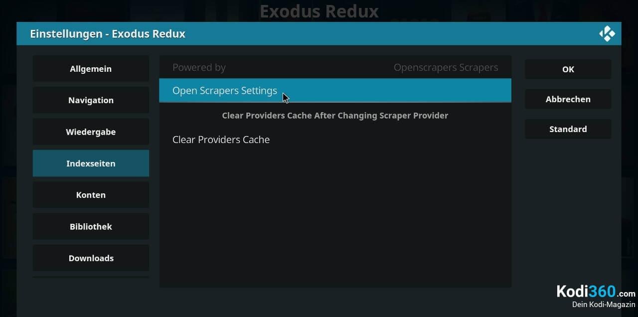 Exodus Redux Sprache wechseln 5