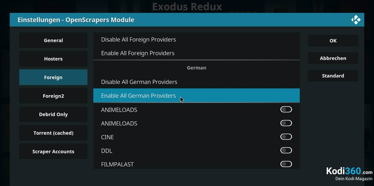 Exodus Redux Sprache wechseln 7