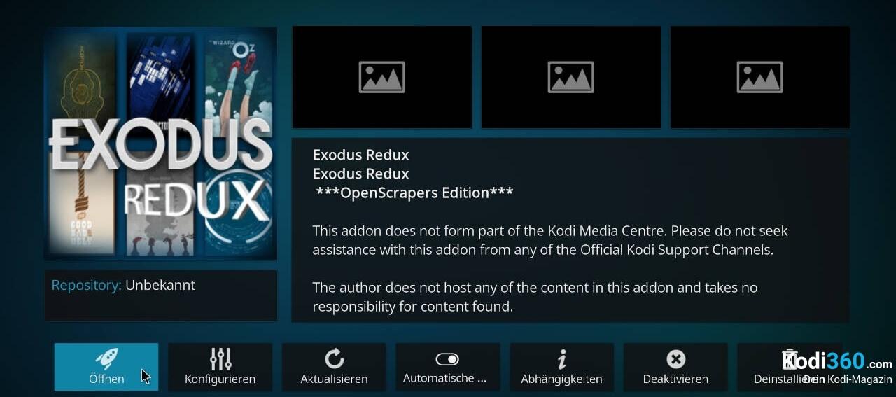 Exodus Redux installieren 11
