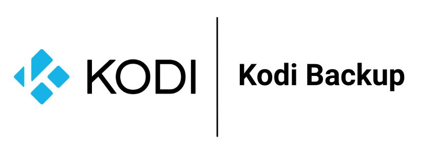 Kodi Backup erstellen